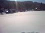 Chalupa v Jizerkách na kopci u Josefova dolu. Výhled do okolí.